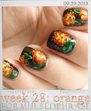 formul8edphrase: 28 orange