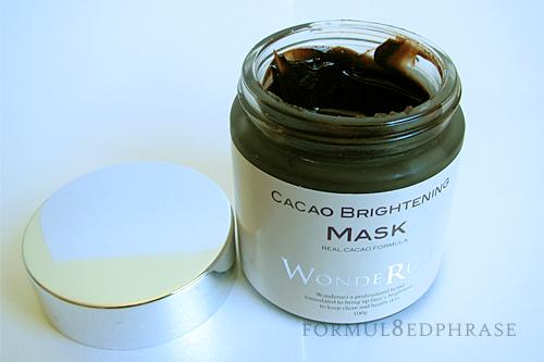 Cacao mask